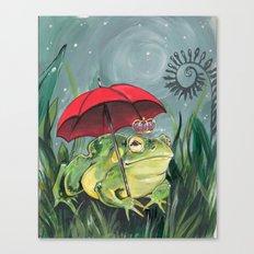 Rainy day Prince Canvas Print