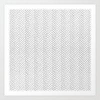 Herringbone DIY Art Print
