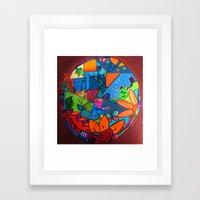 B2 Framed Art Print