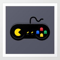 Game of Ghosts Art Print