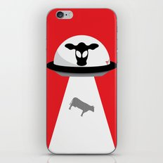 Space Cows iPhone & iPod Skin