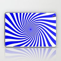 Swirl (Blue/White) Laptop & iPad Skin