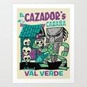 El Cazador's Cabana (open edition) Art Print