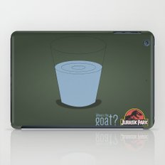 Jurassic Park  ¿Where's the goat? iPad Case