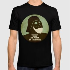 Beard Vader Mens Fitted Tee Black SMALL