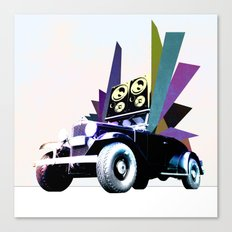 Fabmobile B Canvas Print