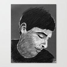 Stanley B&W Canvas Print