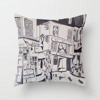Montmartre Throw Pillow