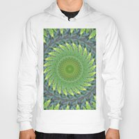 Palm Frond Kaleidoscope Hoody