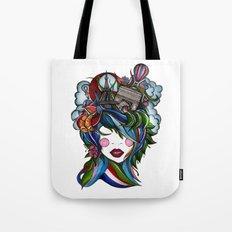 Paris girl Tote Bag
