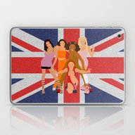 Laptop & iPad Skin featuring Spice Girls by Greg21