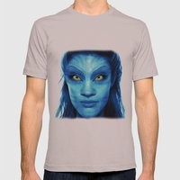 Angelina Jolie Avatar Mens Fitted Tee Cinder SMALL