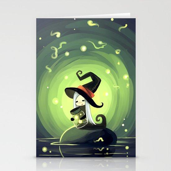 Fireflies Stationery Card