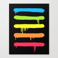 Trendy Cool Graffiti Tag… Canvas Print