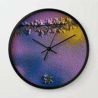 Graffiti Detail 1 Wall Clock