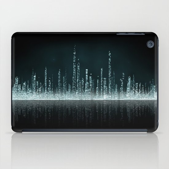 TRON CITY iPad Case