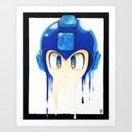Rocket Or Mega? Art Print