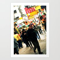 Hong Kong #2 Art Print
