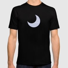 Circles & Curls Craze Black SMALL Mens Fitted Tee