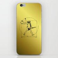 Leonardo Guitar iPhone & iPod Skin