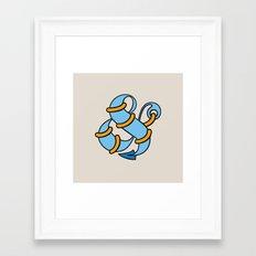 Et Anchor Framed Art Print