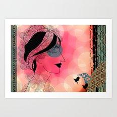 153. Art Print