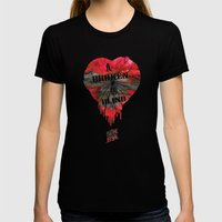 A Broken Heart Is Blind … Womens Fitted Tee Black SMALL