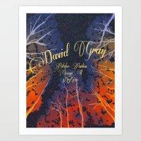 David Grey Poster Art Print