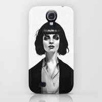 Galaxy S4 Cases featuring Mrs Mia Wallace by Ruben Ireland