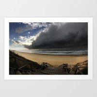 Storm Coming Art Print
