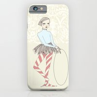 iPhone & iPod Case featuring Harlequin Girl by Irena Sophia