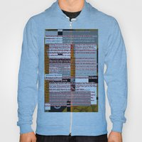 Word Pillow Poem Hoody