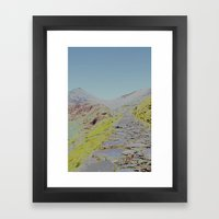 Chromascape 16 (Snowdon) Framed Art Print