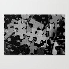 Missing Piece Canvas Print