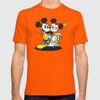 Croissant De Triomphe Mens Fitted Tee Orange SMALL