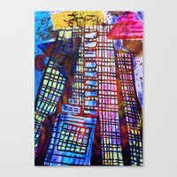The Impossible Building  Canvas Print