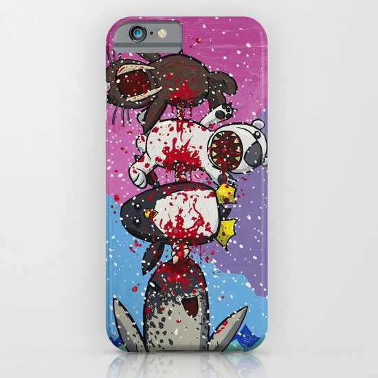 Here Comes a Narwhal! iPhone & iPod Case