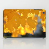 Autumn Gold iPad Case