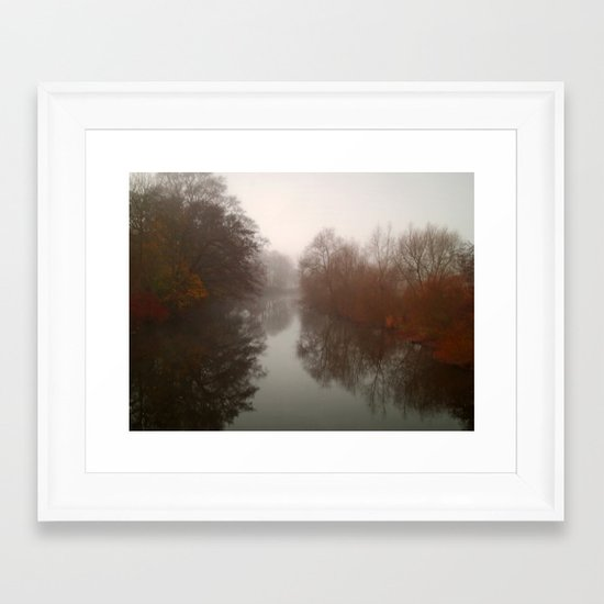 The River Aire 2 Framed Art Print