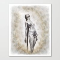 The Androgyne Canvas Print