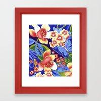 Whimsical Garden Framed Art Print