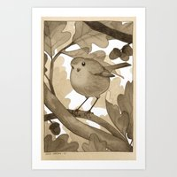 The Bird Art Print