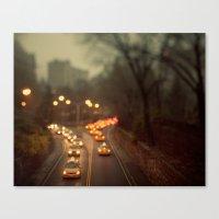 Taxicab Confessions - Ne… Canvas Print