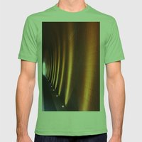 Tunnel Lights Mens Fitted Tee Grass SMALL