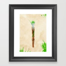 Doctor Who 11th Doctor's Sonic Screwdriver Rustic Framed Art Print