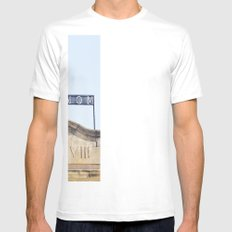 Metronom White Mens Fitted Tee SMALL