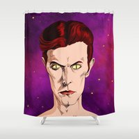 The Man Who Fell  Shower Curtain