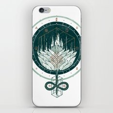 White Dahlia iPhone & iPod Skin