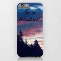 Go On Adventures! iPhone 6 Slim Case