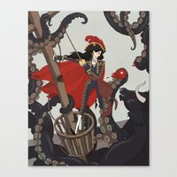 Nautical Matador Canvas Print